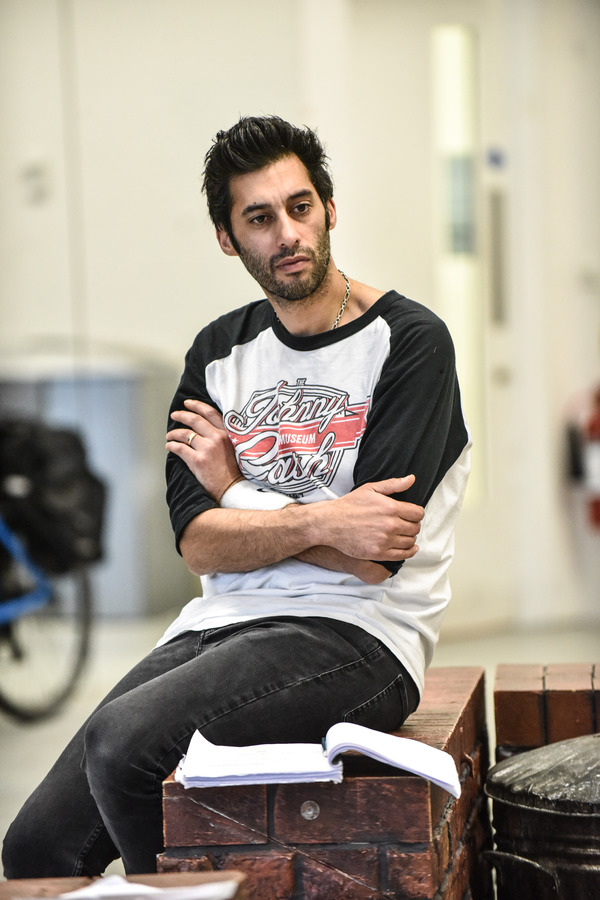 Photo Flash: In Rehearsal for the UK Tour of ANITA AND ME
