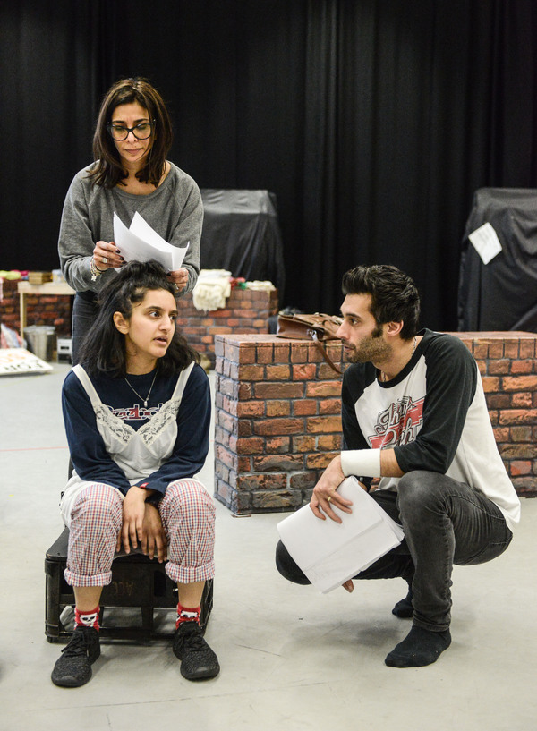 Shobna Gulati, Aasiya Shah, and Robert Mountford Photo