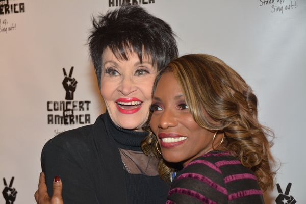 Chita Rivera and Stephanie Mills