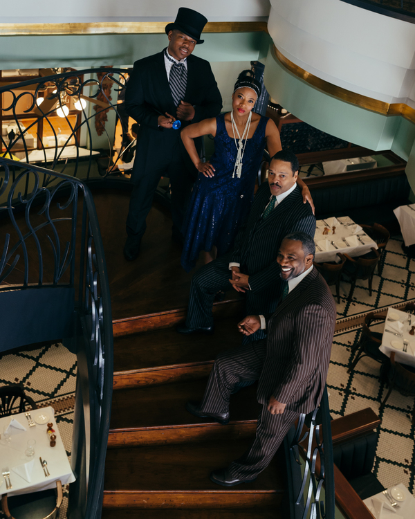 Damien Moses, Idella Johnson, Ted Louis Levy and Robert DoQui