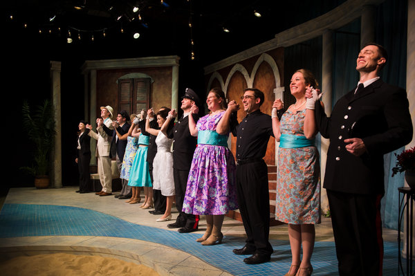 "The cast of ""Much Ado About Nothing� by William Shakespeare at NextStop Theatre Company"