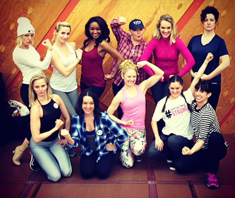 The Ladies of HELLO, DOLLY! Stand Up for Women's Rights
