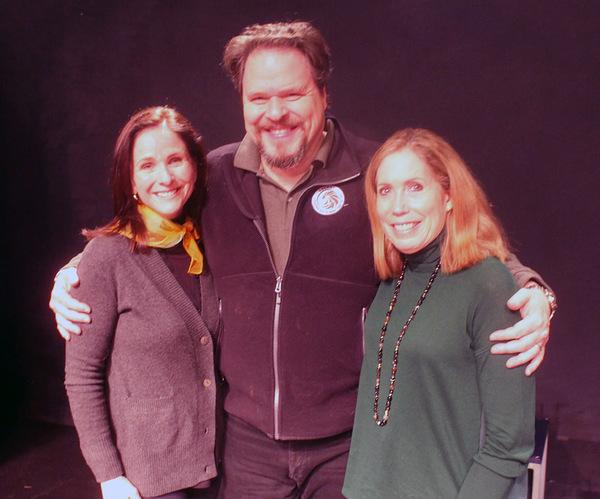 Anne Runolfsson, Mark Delavan and Alix Korey