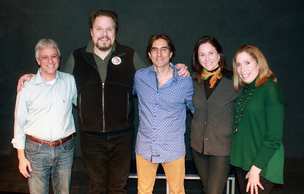 Jeffrey Saver (music director), Mark Delavan, Michael Unger (director), Anne Runolfsson and Alix Korey