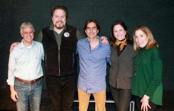 Jeffrey Saver (music director), Mark Delavan, Michael Unger (director), Anne Runolfss Photo