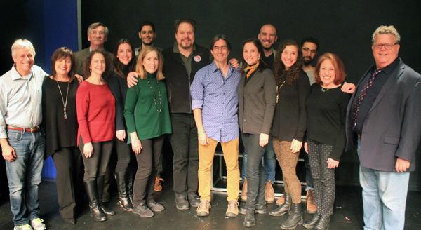 The Full Company: Jeffrey Saver, Marcy DeGonge Manfredi, John Little, Joanne Lessner, Photo