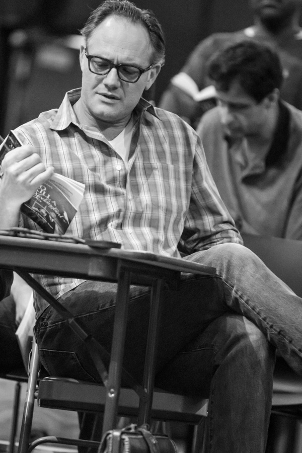 To Kill a Mockingbird Rehearsal  Jason Douglas (Atticus Finch) Photo Credit: Jeff McMorrough