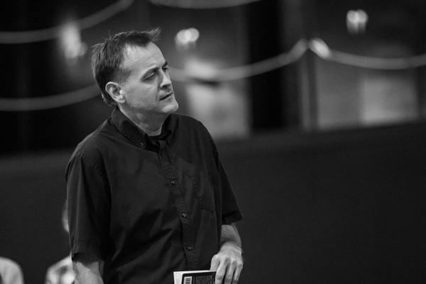 To Kill a Mockingbird Rehearsal  Chip Simmons (Mr. Gilmer) Photo Credit: Jeff McMorrough
