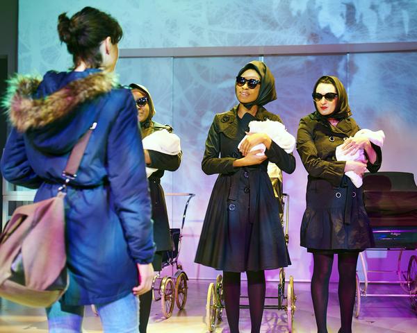 Lucy Carapetyan, Amber Sallis, Leea Ayers, and Indra Andreshak Photo