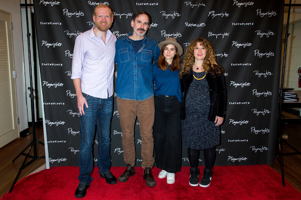 Paul Thureen, Erik Lochtefeld, Aya Cash, Hannah Bos