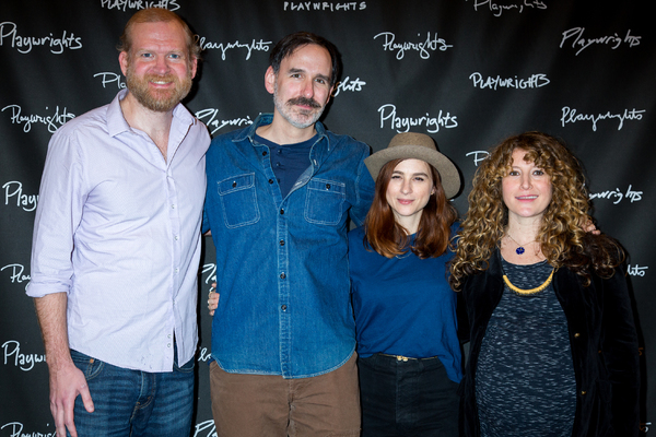 Photo Coverage: Meet the Company of Playwrights Horizons' THE LIGHT YEARS