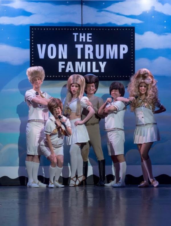 Photo Flash: Von Trumps Join the Cast of BEACH BLANKET BABYLON