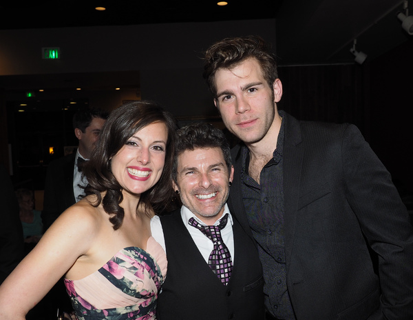Natalie Storrs and Devin Archer with Director Nick DeGruccio