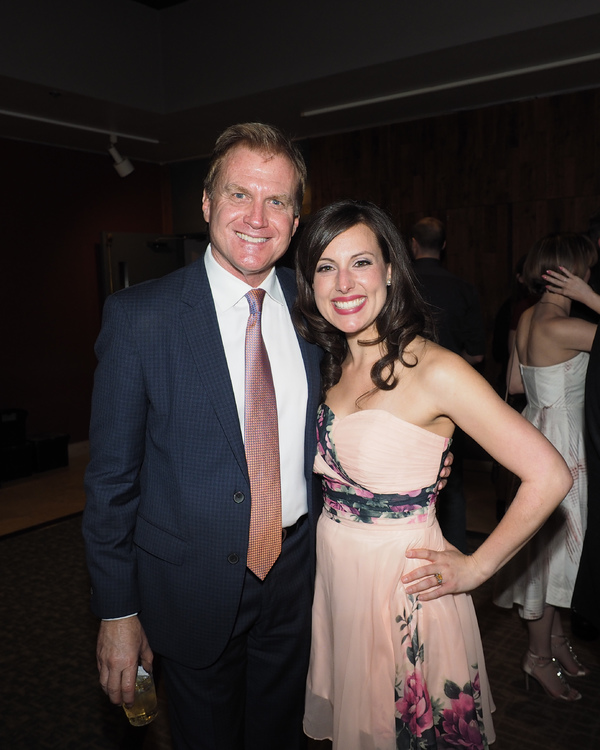 Executive Producer Tom McCoy and Natalie Storrs