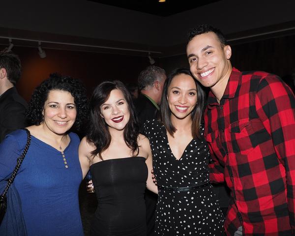 Julie Garnye, Rebecca Gans, Nancy Lam, and Armando Yearwood