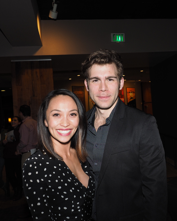 Nancy Lam and Devin Archer