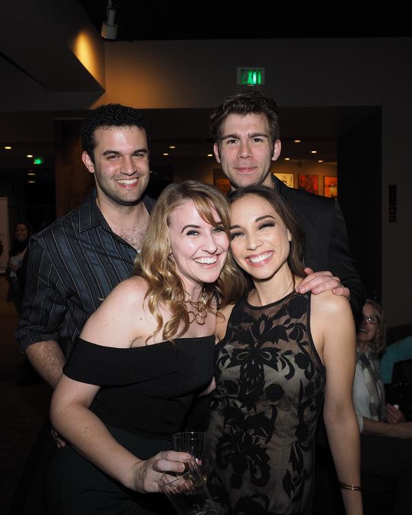 Travis Leland, Katie DeShan, Devin Archer, and Cassie Simone