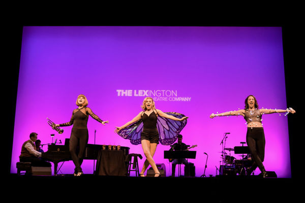 Laura Bell Bundy with Brianna Latrash and Kimberly Pine Photo