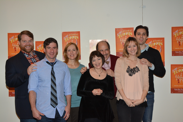 Photo Coverage: Meet the Cast of Paper Mill Playhouse's A COMEDY OF TENORS