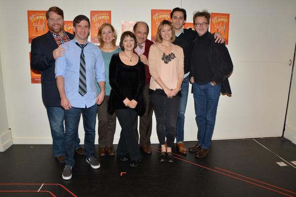 John Treacy Egan, David Josefsberg, Donna English, Judy Blazer, Michael Kostroff, Jill Paice and Ryan Silverman are joined by director Don Stephenson