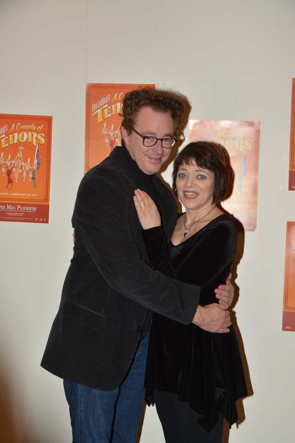 Don Stephenson and Judy Blazer