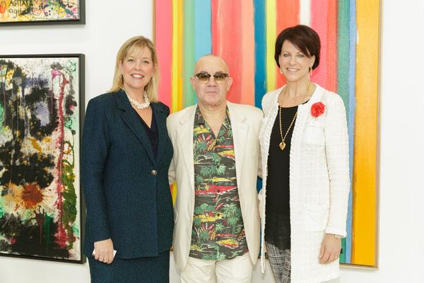 Rena Blades, Bernie Taupin. Suzanne Niedland