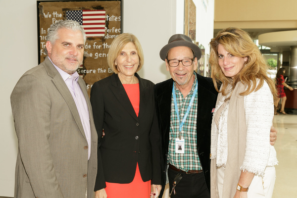 Nick Korniloff, Mayor Jeri Muoio, Bruce Helander, Pamela Cohen Photo