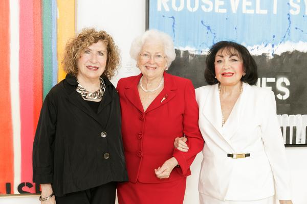 Linda Rosenkranz, Virginia Mossburg, Dina Gustin Baker