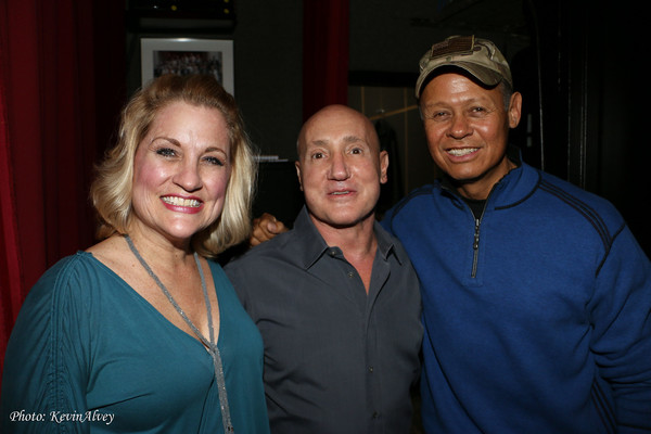 Becky Priest, Gianni Valenti and Neal McCoy
