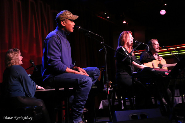 Becky Priest, Neal McCoy, Victoria Shaw and Gary Burr
