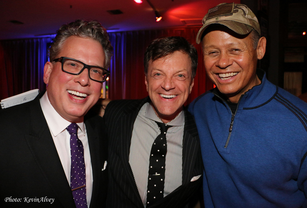 Billy Stritch, Jim Caruso and Neal McCoy