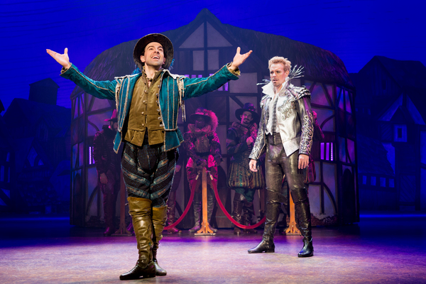 Rob McClure and Adam Pascal