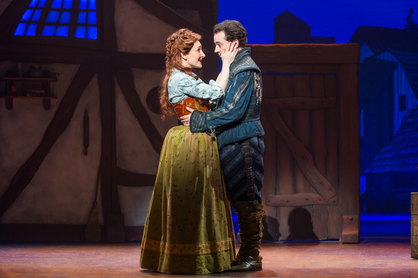 Maggie Lakis and Rob McClure