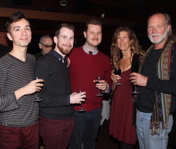 Alex Huerta, David Afsenault, Hunter Kaczorowski, Ellen Speert and Paul Henry Photo