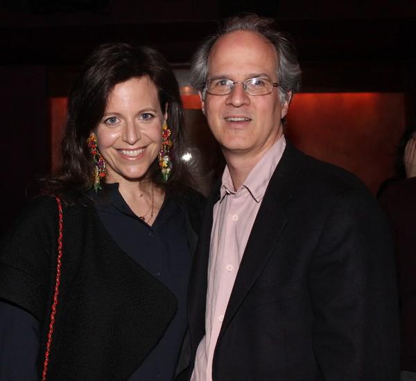 Katie Firth and Jonathan Bank