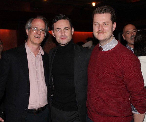 Jonathan Bank, Max von Essen and Hunter Kaczorowski Photo