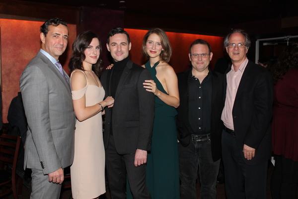 Stephen Schnetzer, Mikaela Izquierdo, Max von Essen, Elisabeth Gray, Todd Cerveris and Jonathan Bank