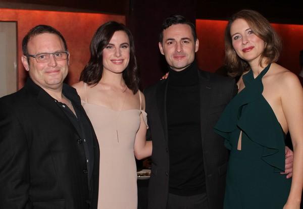 Todd Cerveris, Mikaela Izquierdo, Max von Essen and Elisabeth Gray Photo