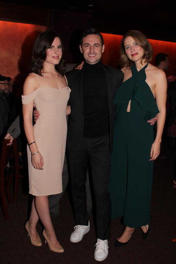 Mikaela Izquierdo, Max von Essen and Elisabeth Gray Photo