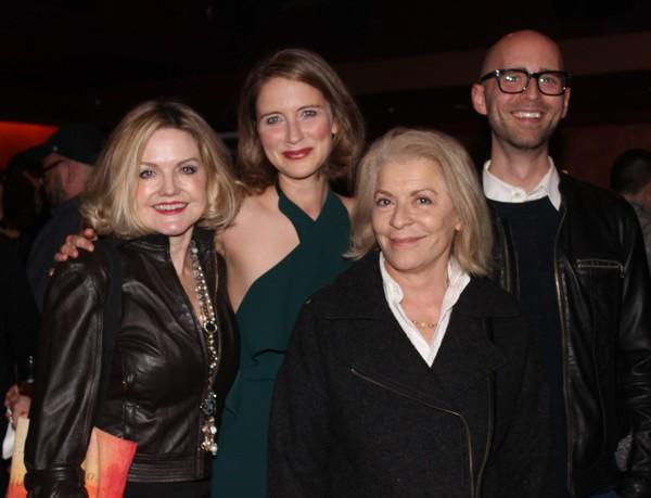 Alison Fraser, Elisabeth Gray, Suzanne Bortish and Mark Peikert