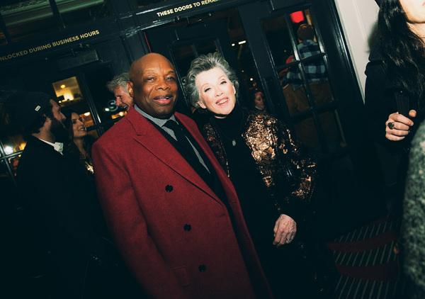 Mayor Willie Brown and Carole Shorenstein Hays