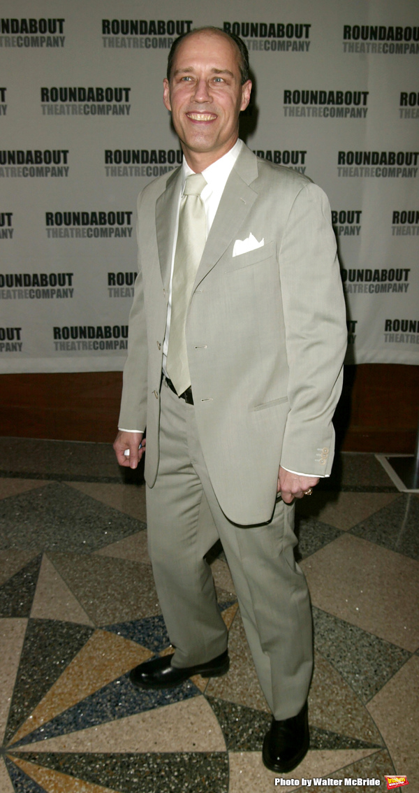 Kevin Greer attending the Roundabout Theatre 2005 Spring Gala Celebration,  A SPECIAL MUSICAL TRIBUTE TO STEPHEN SONDHEIM,  at Pier 60 at Chelsea Piers in New York City. April 11, 2005