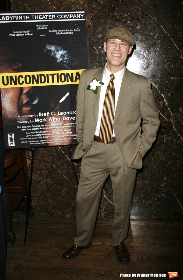 Kevin Greer attending the Opening Night for the Labyrinth Theater Company's World Premiere of a New Play UNCONDITIONAL at the Public Theatre with an after party at Colors Restaurant in New York City. February 18, 2008