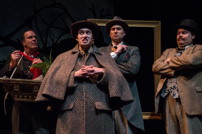 BWW Review: Comedy and Clues Combine in BASKERVILLE, CATCO's Captivating Caper