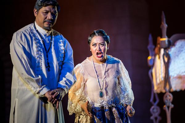 Photo Flash: Production Shots of NOLI ME TANGERE, The Opera 2017