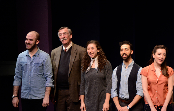 Ari Axelrod, John Little, Abby Goldfarb, Jacob Heier and Jessica Fontana