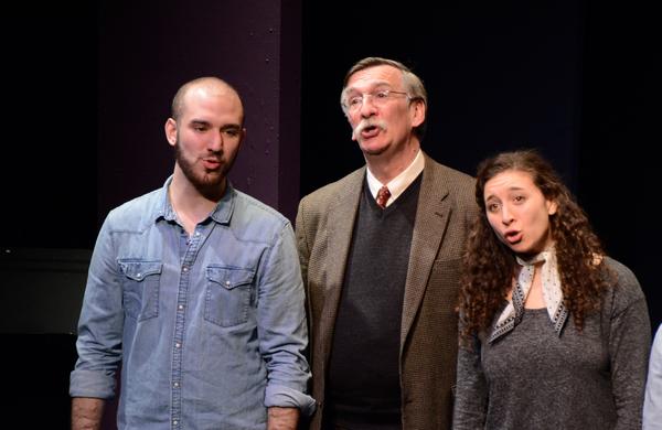 Ari Axelrod, John Little and Abby Goldfarb Photo