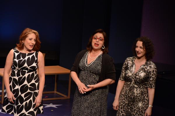 Joy Hermalyn, Marcy DeGonge Manfredi and Joanne Lessner