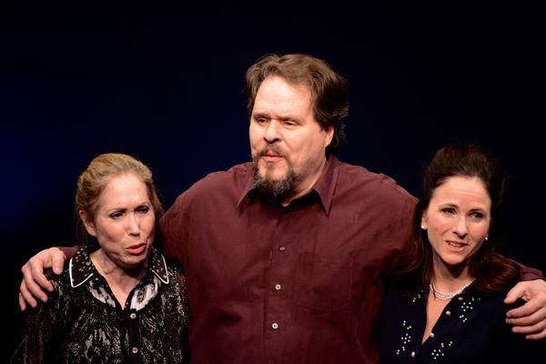 Alix Korey, Mark Delavan and Anne Runolfsson Photo