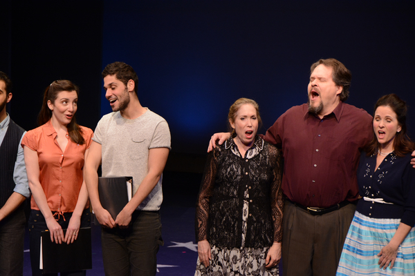 Jessica Fontana, Perry Sherman, Alix Korey, Mark Delavan and Anne Runolfsson Photo